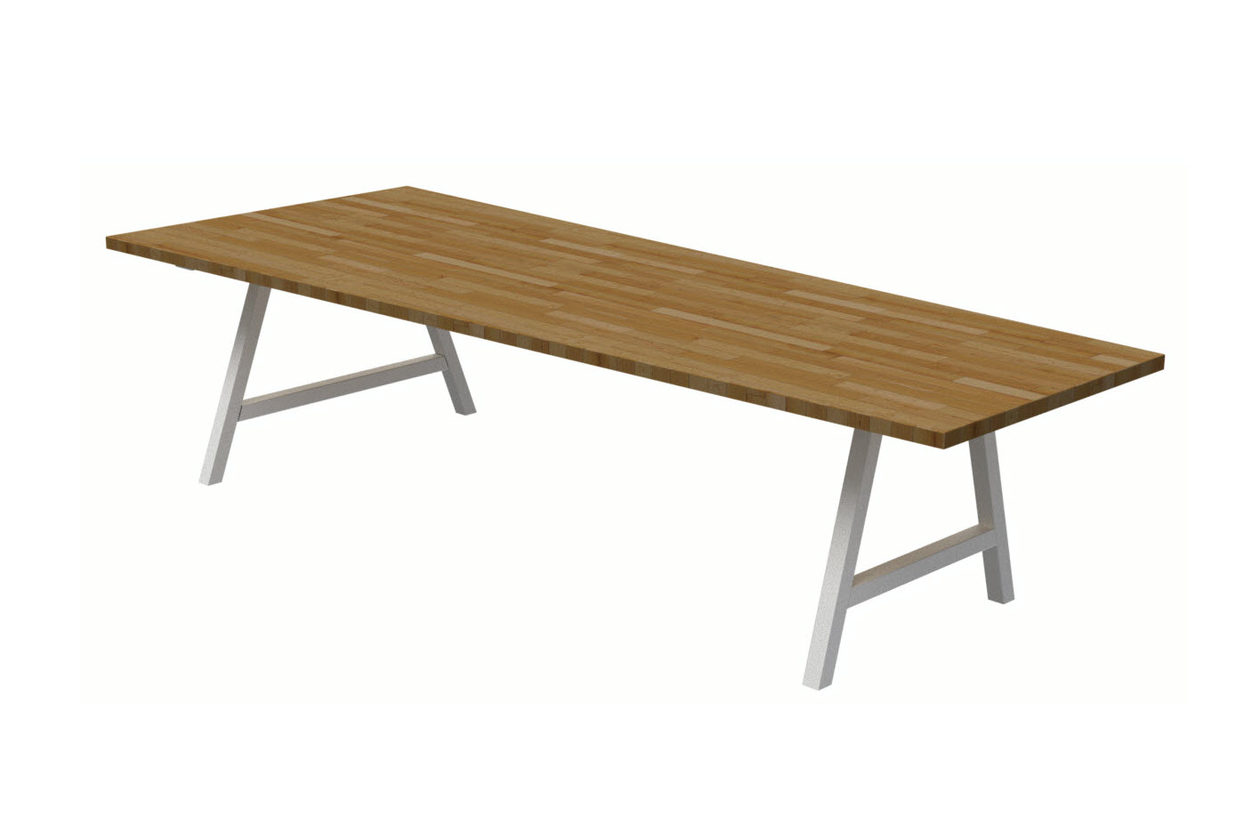 Trapezoid Conference Table