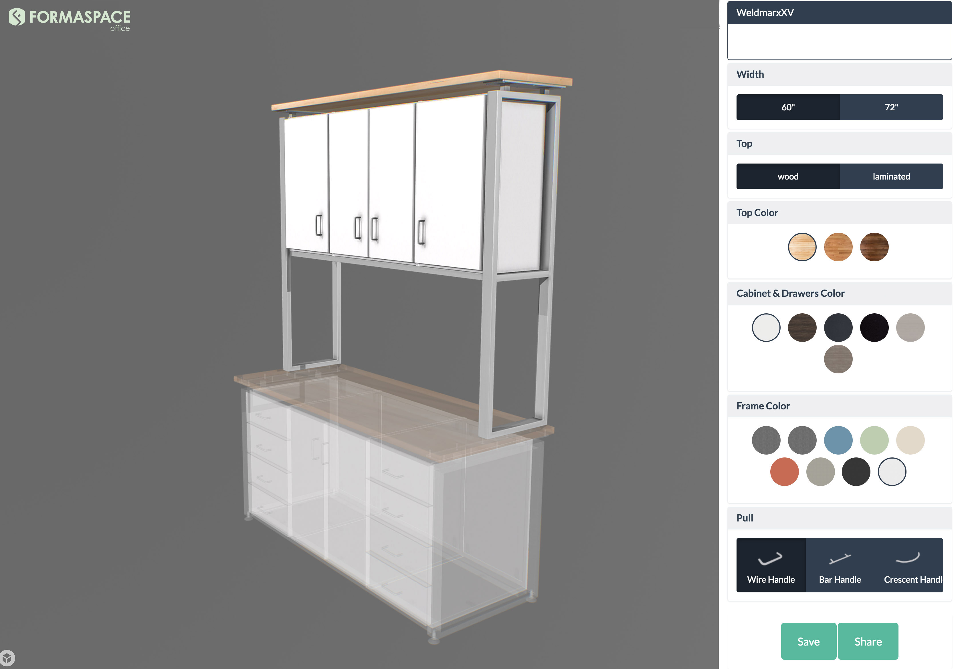 3D Configurator - Formaspace