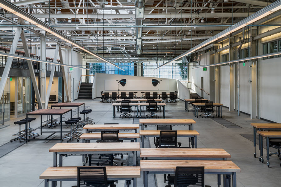 7 points to consider when creating ideal office layouts - Signe different open office ...