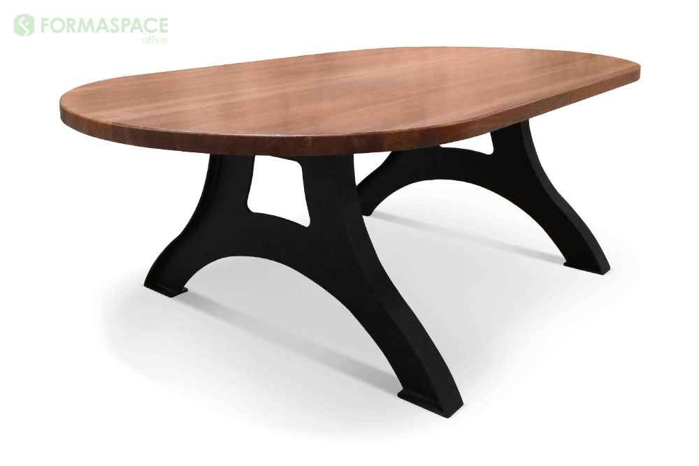 oval shaped confrence table