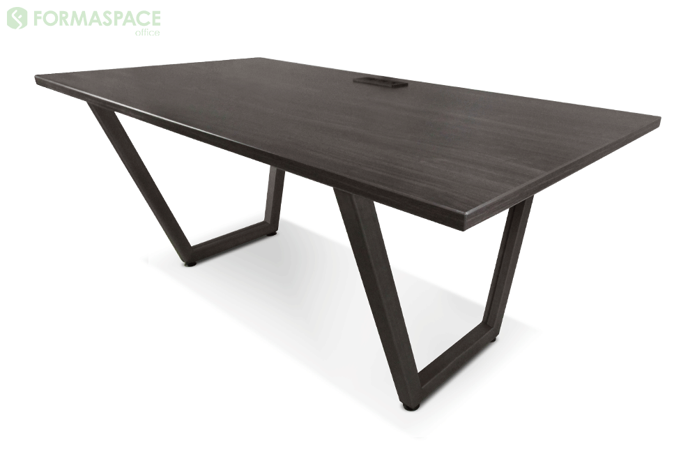 walnut laminate conference table