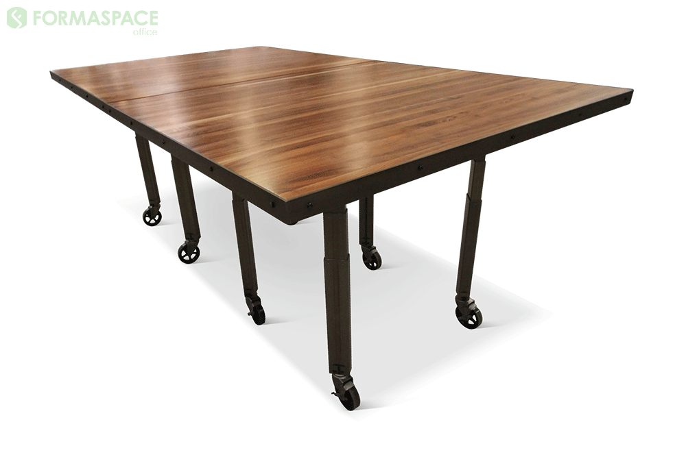 height adjustable conference table