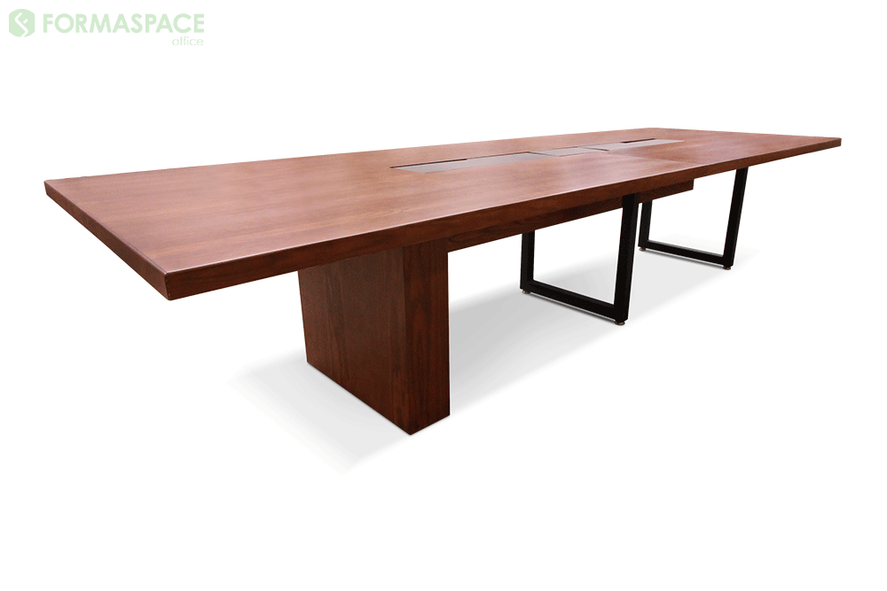 wood meeting table