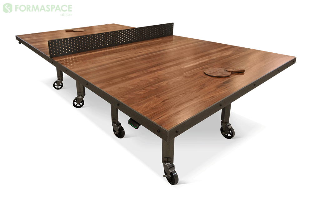 walnut ping pong conference table