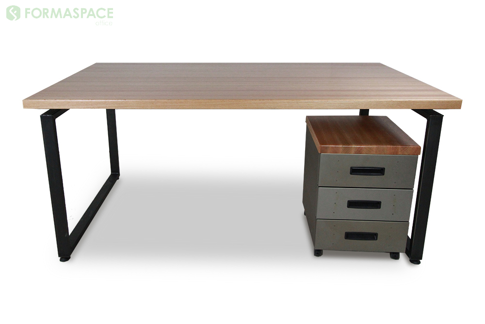 oak office desk