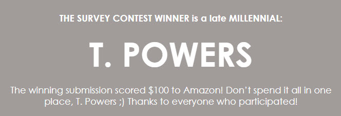 t powers - contest winner
