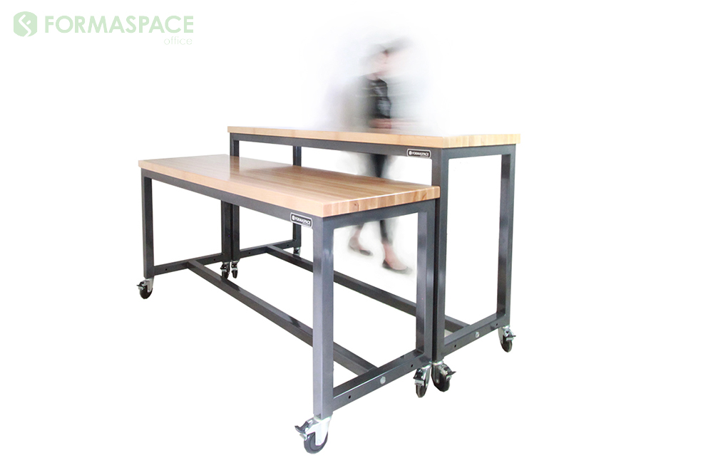 basix workbenches with casters