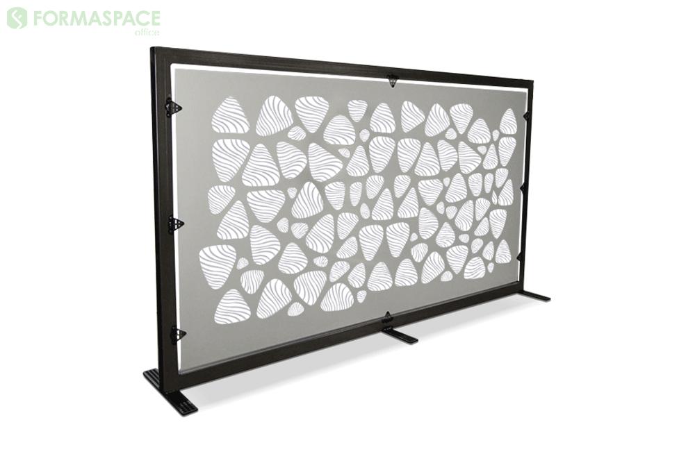 custom free standing gallery panel