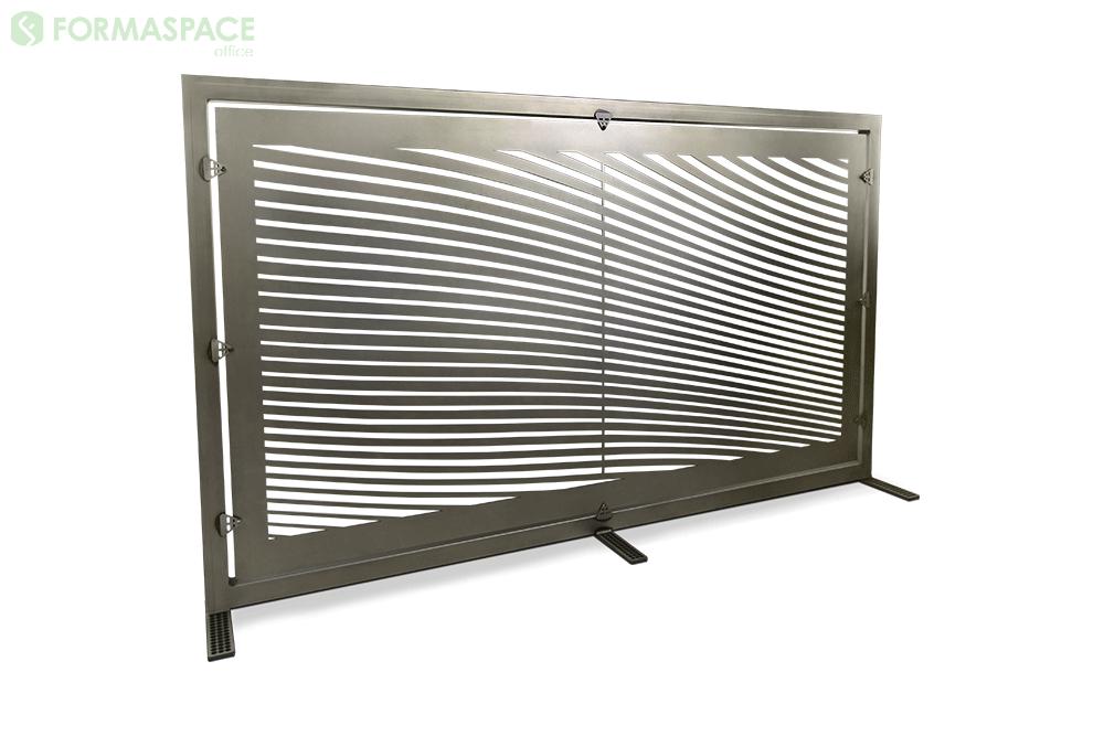 steel gallery panel