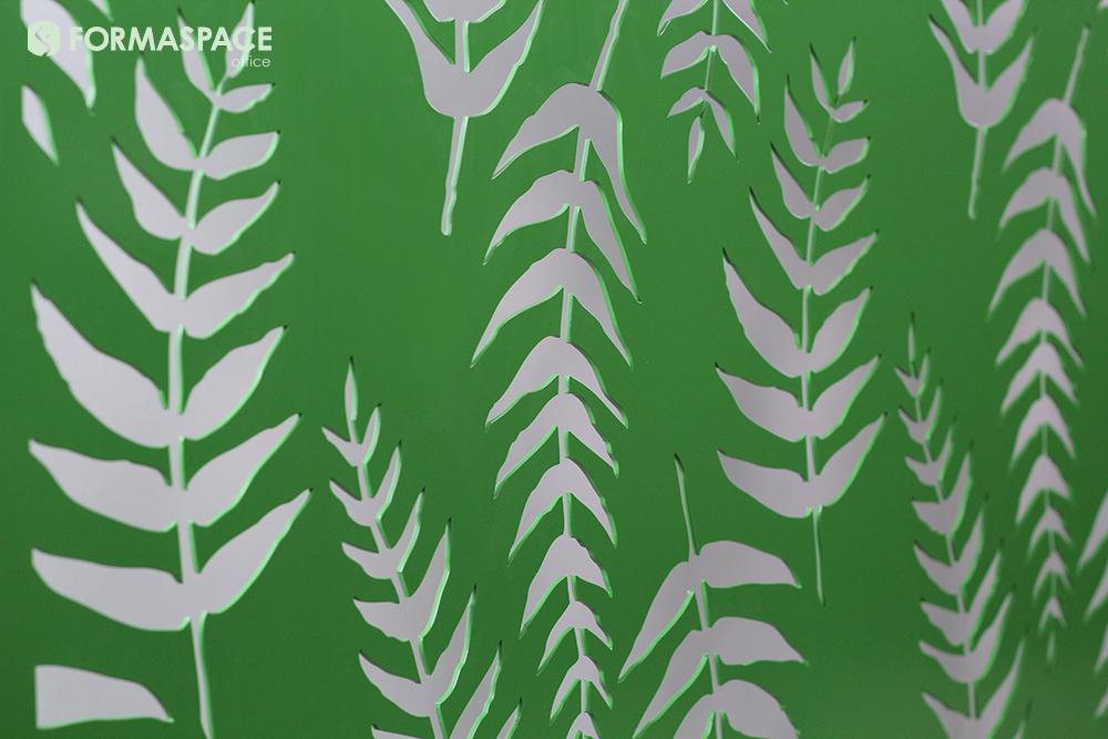 custom leaf laser cut pattern