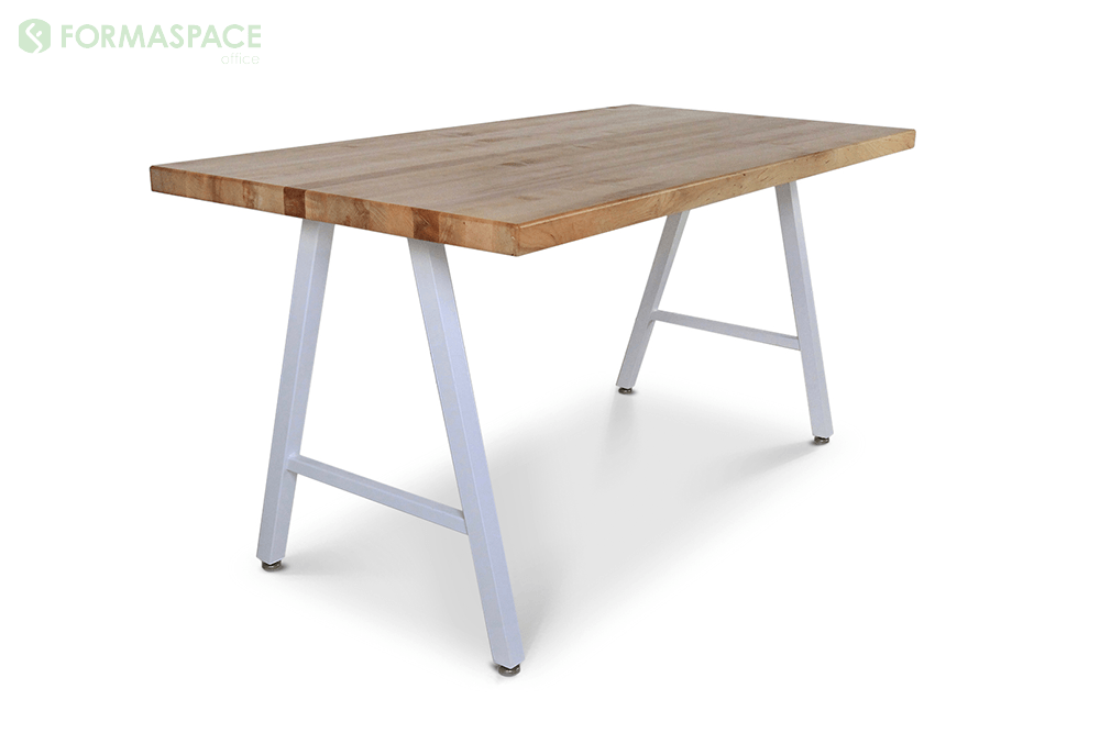 contemporary a frame personal desk solid wood