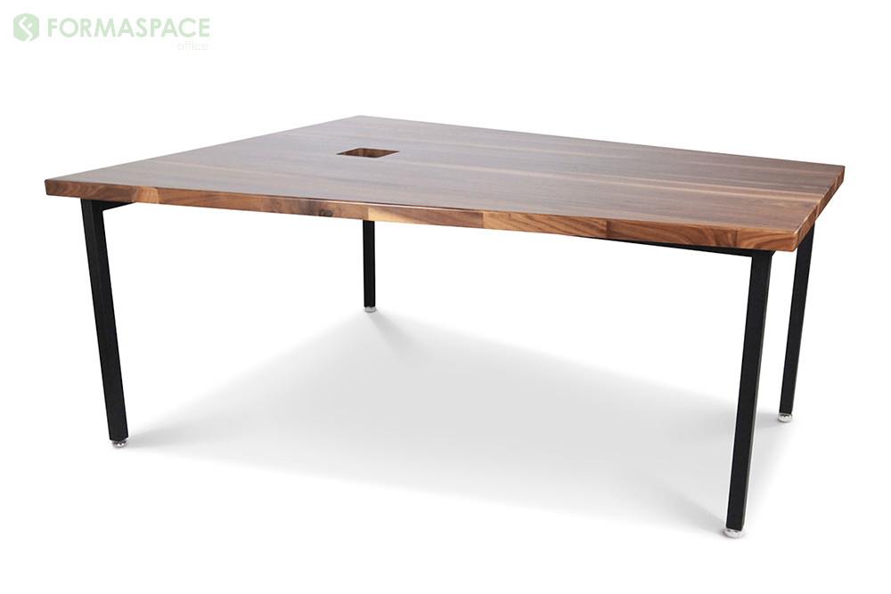 unique asymmetrical conference table
