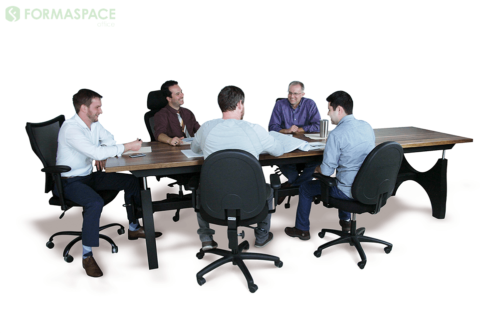 hardwood conference table