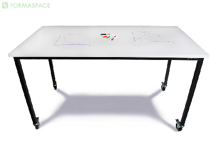 Dry Erase Top Table Made for Brainstorming and Collaboration thumbnail