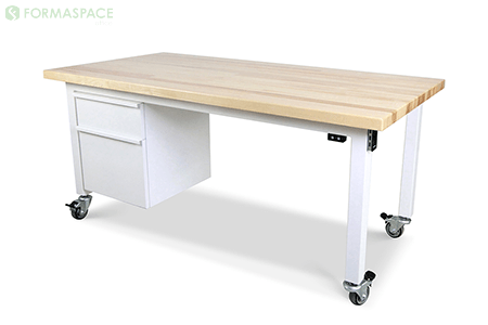 adjustable height office table thumbnail