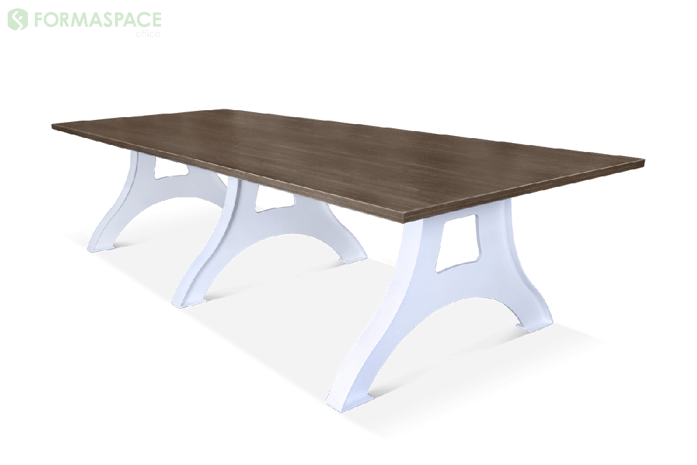 refined industrial office conference table