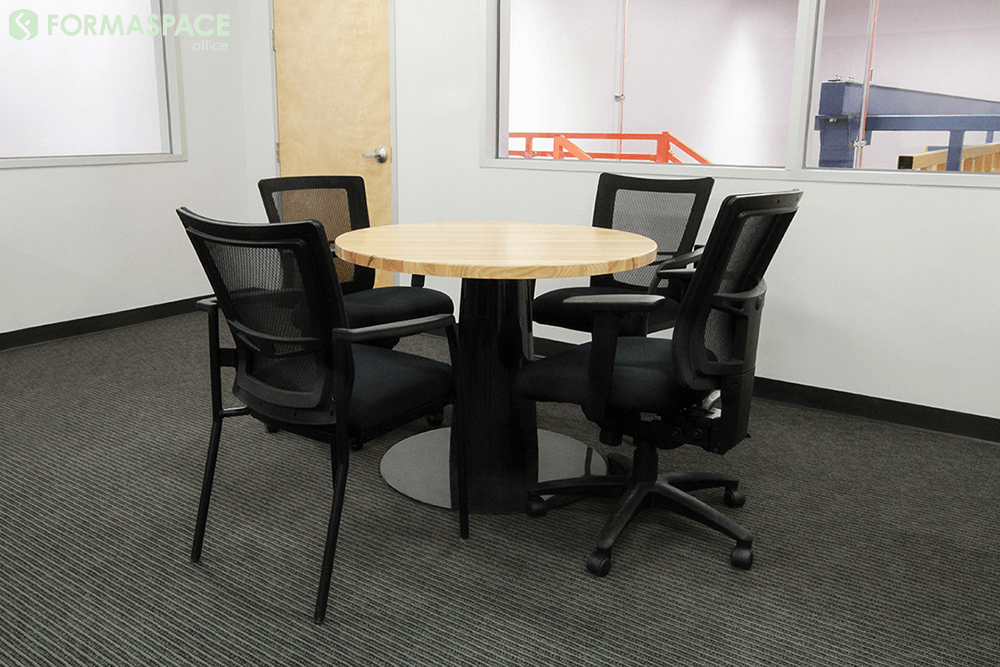 4 person round collaboration table