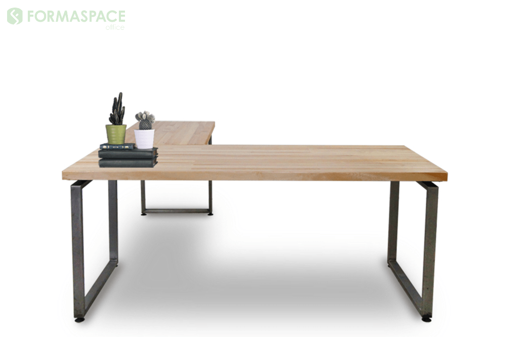 l shaped right desk
