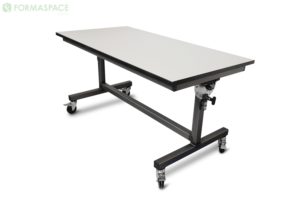 mobile flip top training table