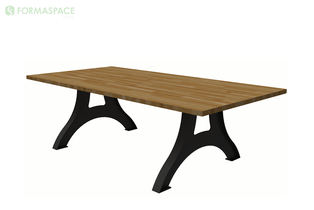 maple rectangular conference table