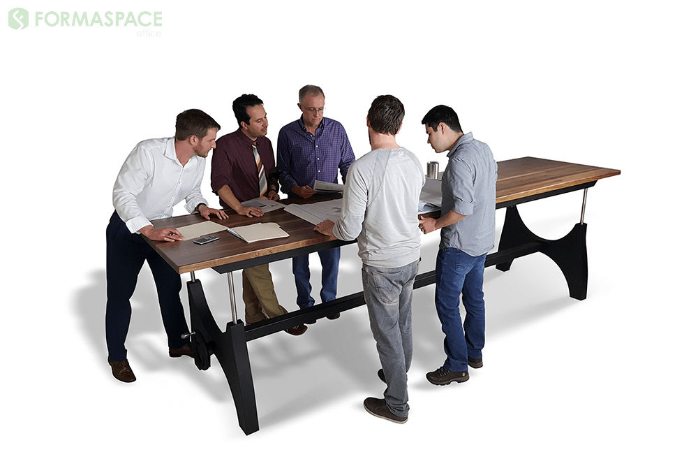 stand-up meeting table