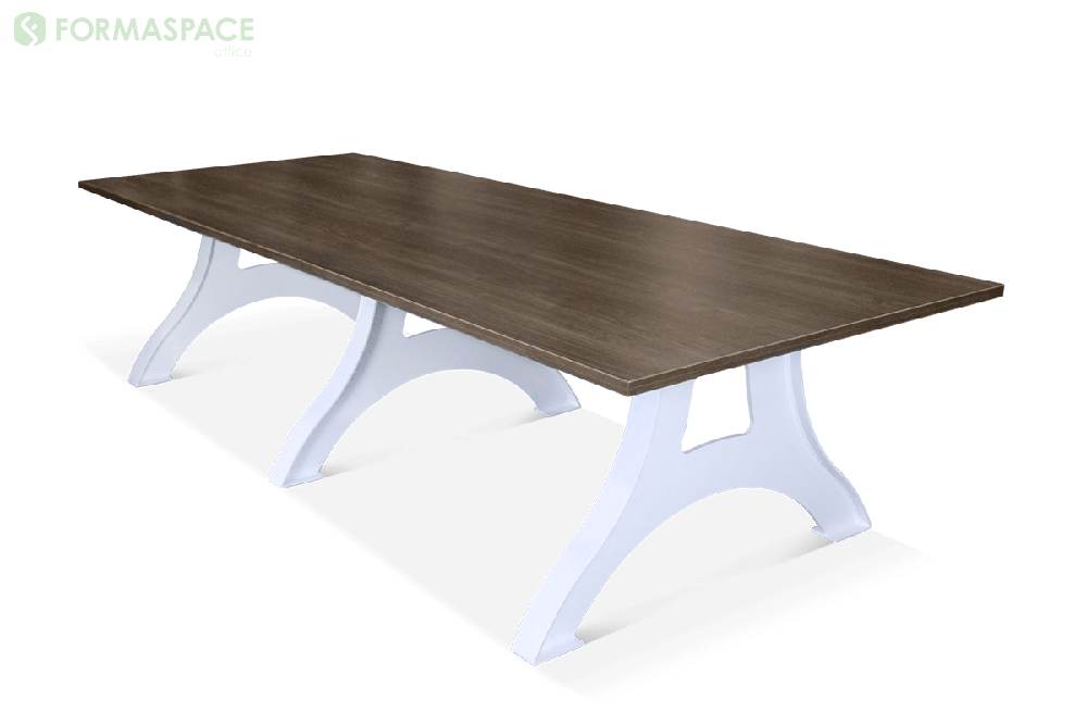 eiffel base industrial meeting table