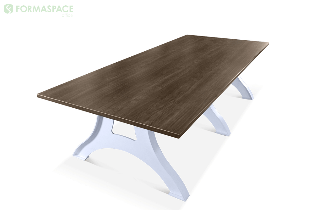 industrial rectangular conference table