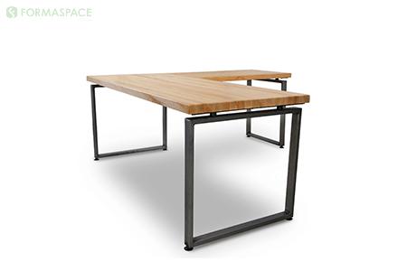 matte clear frame on desk