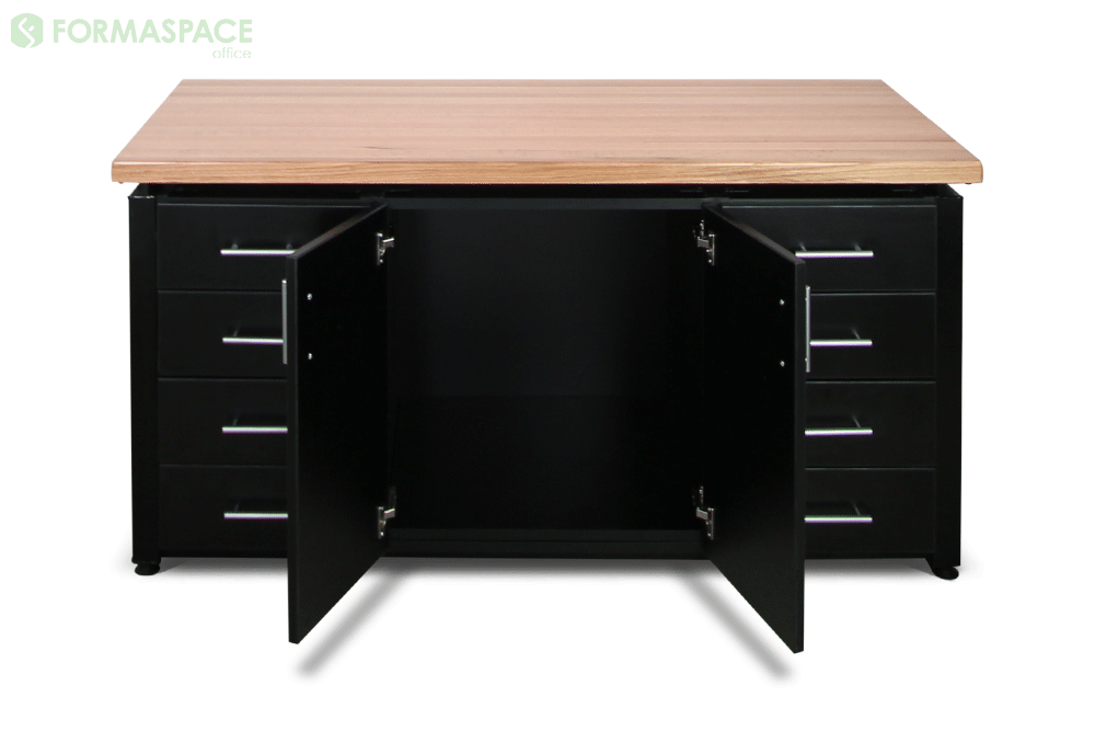 credenza filing cabinet with oak top