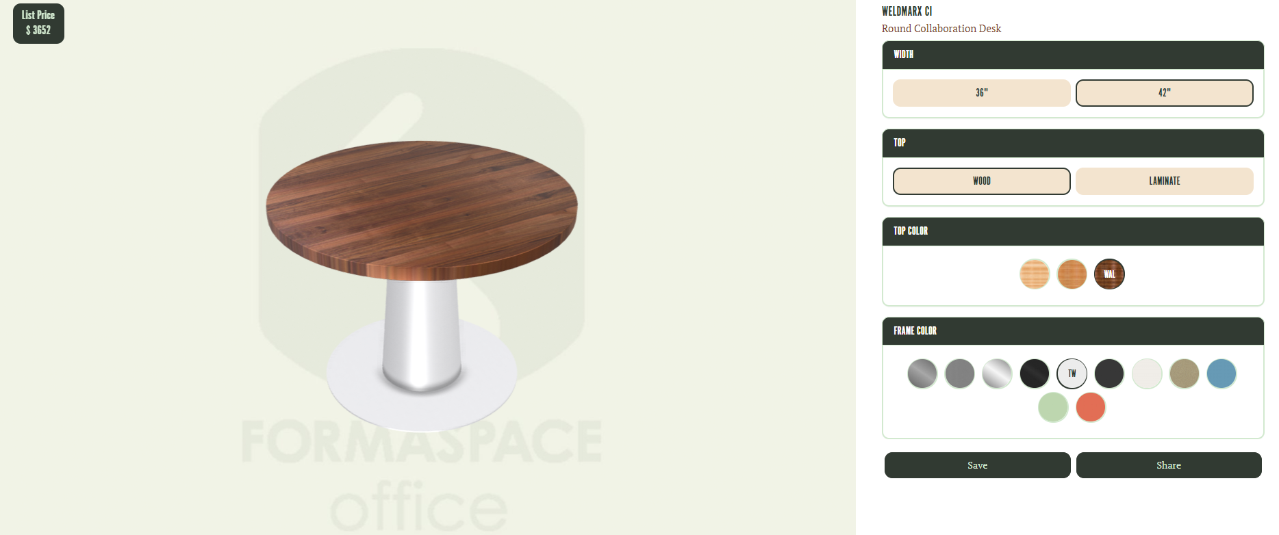 formaspaceoffice 3d tool screenshot