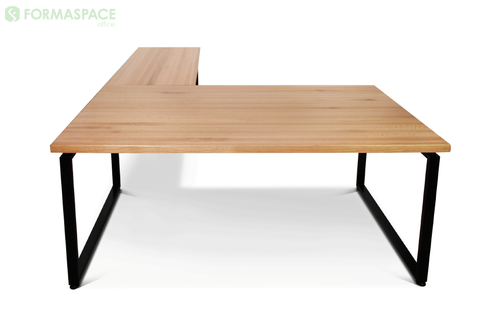 l shaped right desk