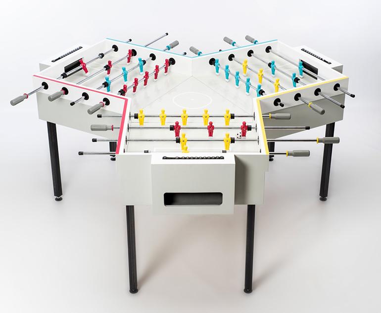 y-kicker foosball table