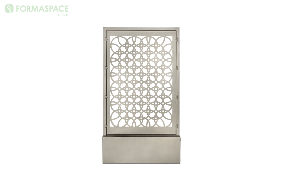satin nickel steel screen