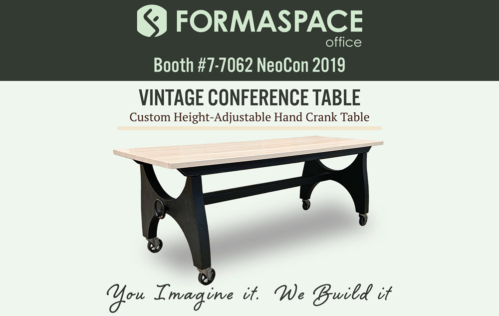 visit formaspace office at booth 7062