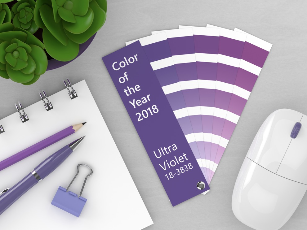 The Color of 2018: Pantone Ultra Violet