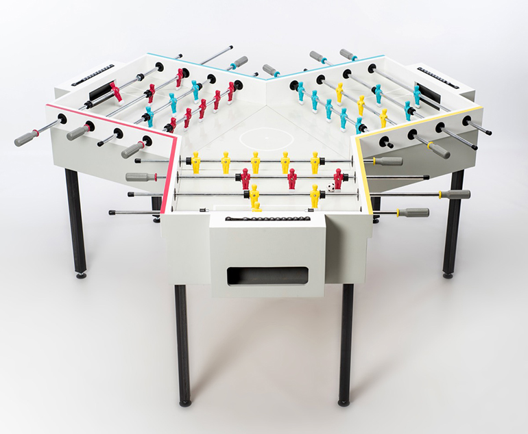 y-kicker foosball table