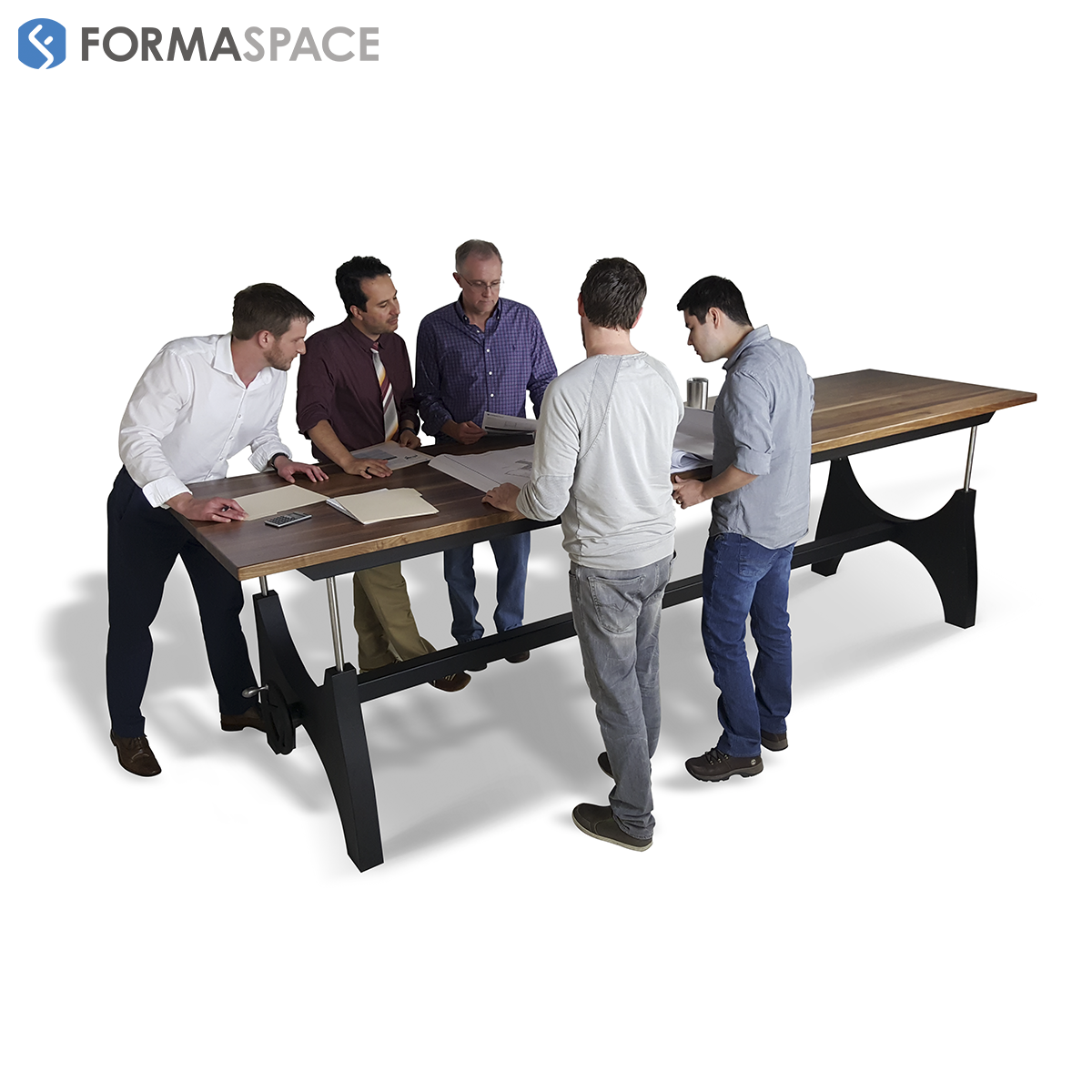 standing collaborative meeting table