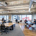 height adjustable desking - open office|height adjustable open office thumbnail