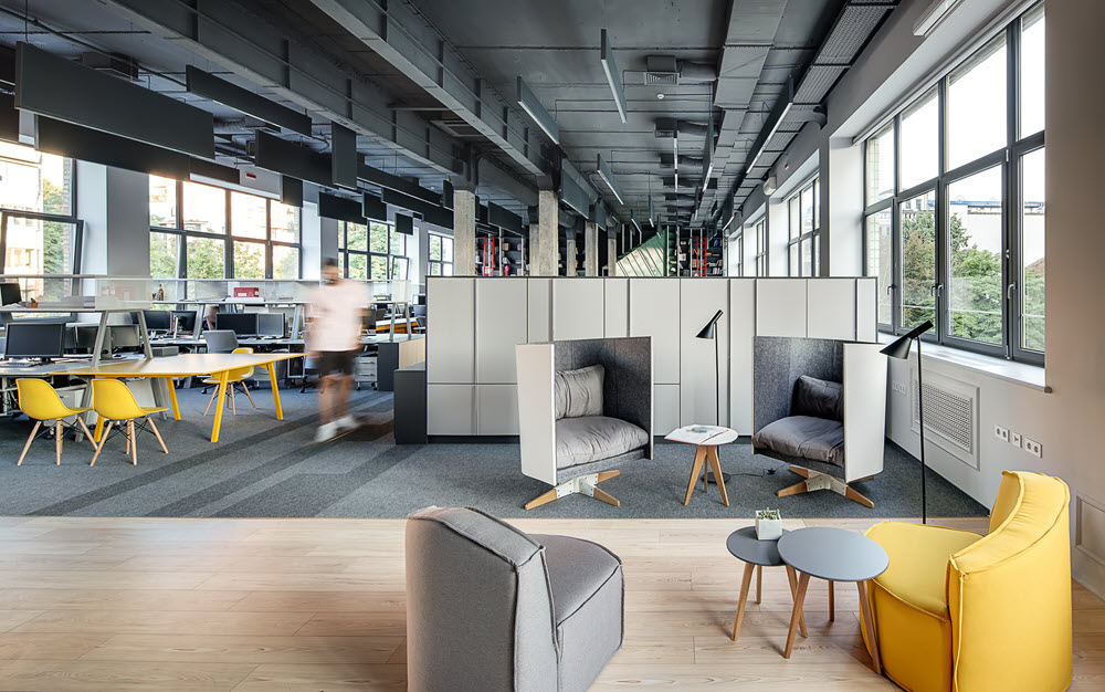Open Office Design|office snap|Credit Suisse