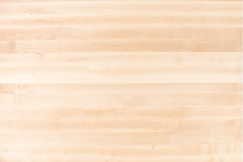 Washed hardwood