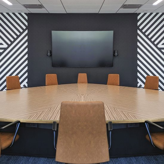 Guitar Pick Conference Table