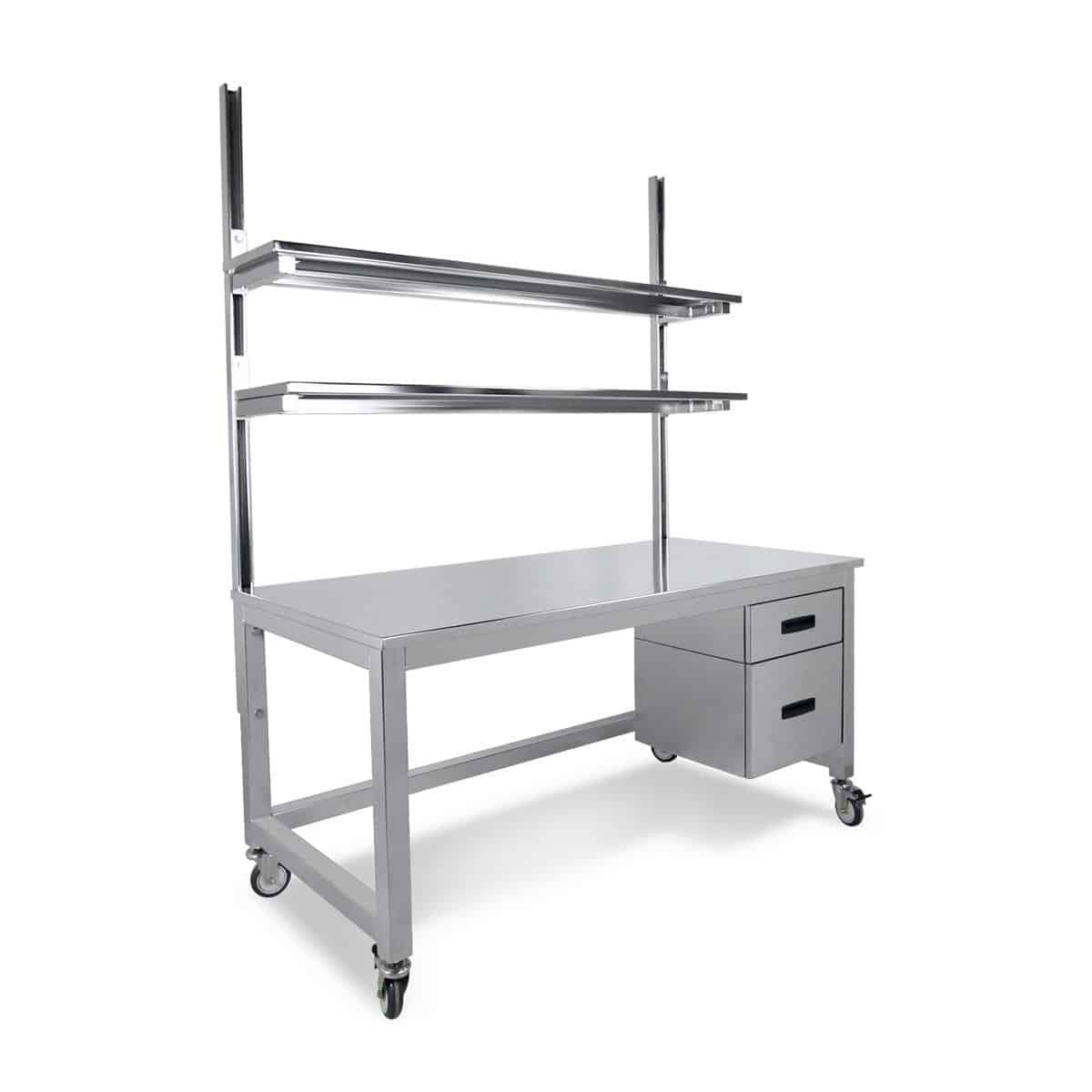 stainless steel benchmarx 2drawers