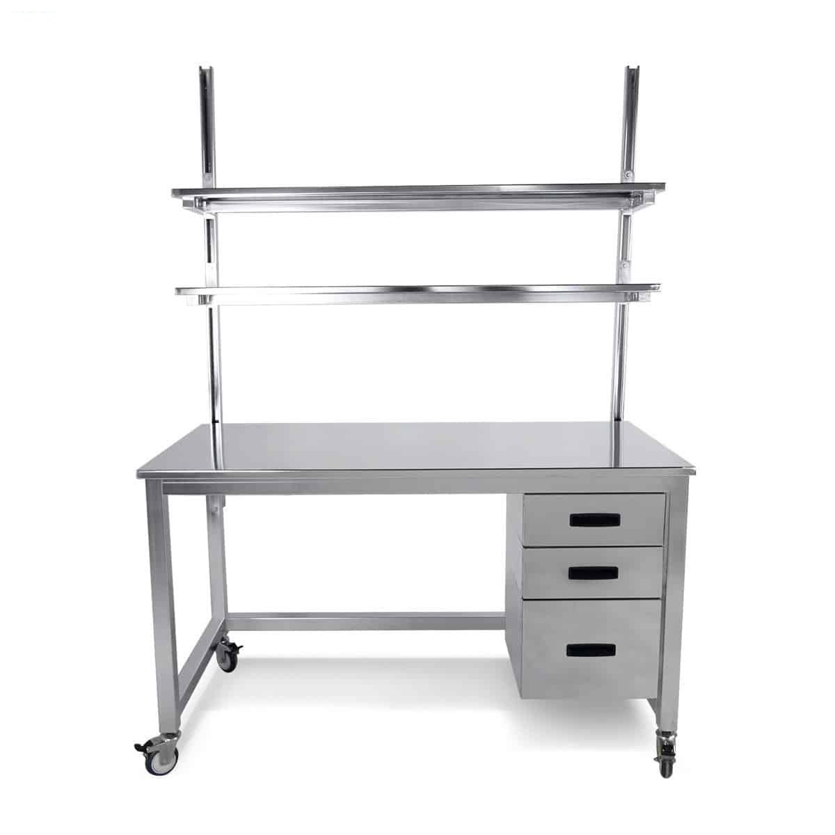 stainless steel benchmarx 3drawers