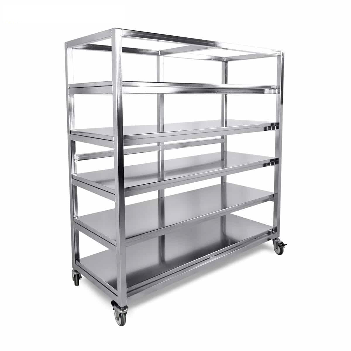 stainless steel storage carts