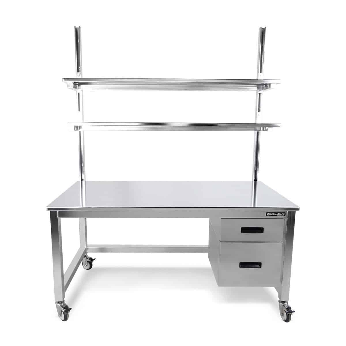 stainless steel upper lower storage
